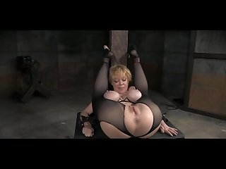 Darling blissfully hogtied