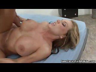 Fucked wifey nikki sexx cum fed