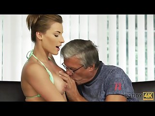 DADDY4K. Sex with her boyfriend�s father after swimming pool