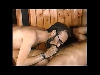 Hot vintage bisexual mmf swingers