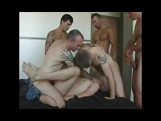 Birthday boys friends get dan frisk as a raw hot present for him gangbang