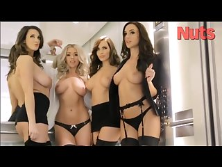 Melissa d joey fisher rosie jones sabine j office strip