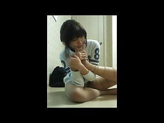 taste good weird korean chick sucks pantyhose licks between her bare toes