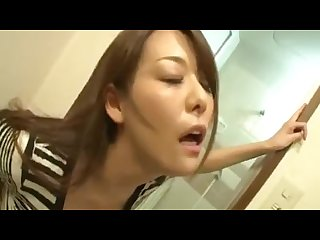 Japanese milf fucks boy
