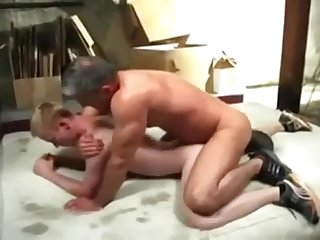 Breed myblonde boy young ass silver fox daddy