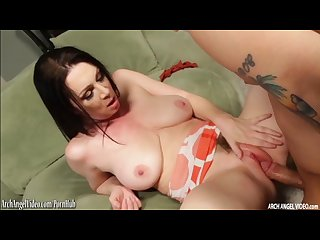 Busty rayveness fucked hard and squirting at archangel