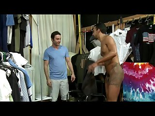 Jay alexander S big dick spotted by stagehand
