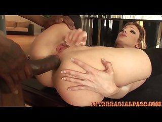 Milf anal massive interracial cock