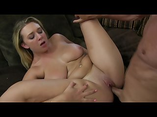 Brooke Wylde gets her ass and tits worshipped by her agent
