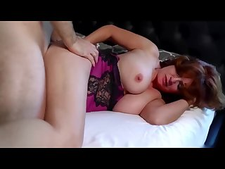 Rough sex with sleepy step mom rough big tits