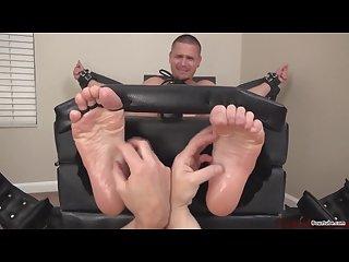 Wrinkle soles in tickle torture