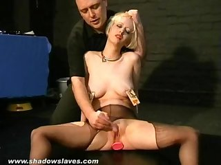 Kinky cherry torns bizarre burning ass punishment and blonde slave girls