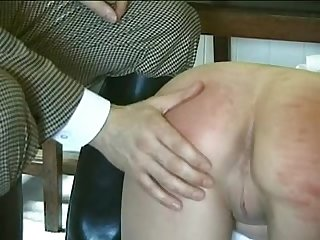 British maid whipped spanked