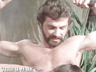 Vintage gay s m feature film centurians of rome scene 1