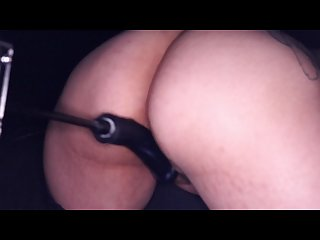 Lady lace fucking machine 1