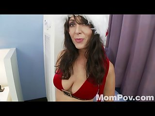 Christmas anal with mrs clause from mompov