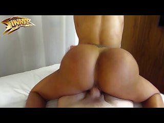 Big ass latina Twerking on dick canela skin colmbiana