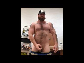 Married straight hairy redneck shows off
