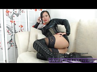 Hot asian mistress pornbabetyra gives you a nasty domination