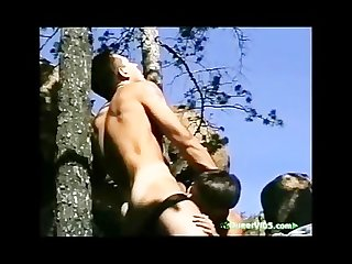 Outdoor bareback