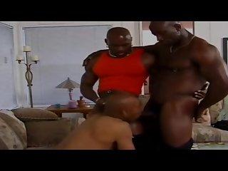 Bobby Blake, Flex-Deon Blake & Infinity - Black Threesome Gangbang Orgy