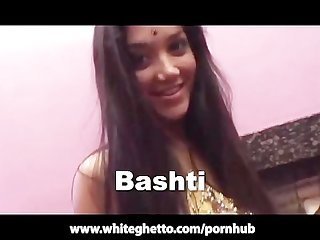 Indian british desi with big tits gangbang and facial