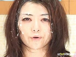 Tv announcer bukkake cumshots Gokkun special