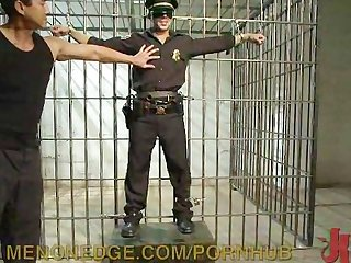 Officer gets locked up and fucked up