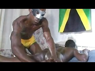 Jamaican guy Helping a brotha out