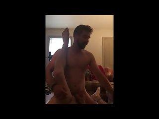 Gargling Jason s cum while fucking him raw