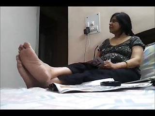 Feet of mature indian goddess 1