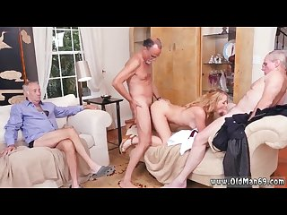 Old man sucking young cock and blonde old lady Frankie and the gang tag