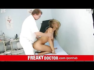 Gynecological check up of hottest czech babe rachel evans