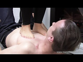 Sexy trampling