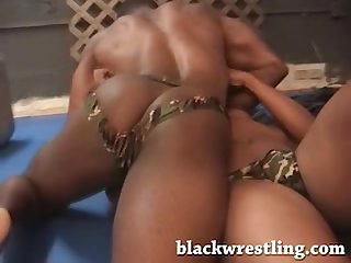 Erotic black Wrestling