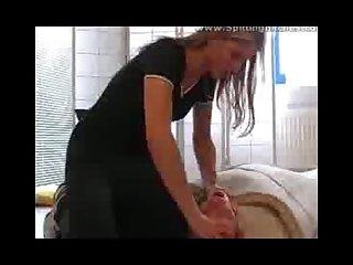 Spitting femdom 4