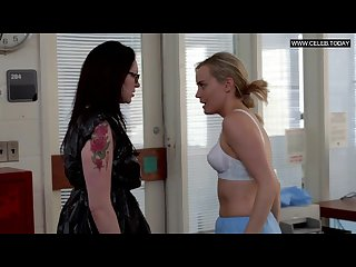 Taylor schilling Laura prepon lesbian sex scenes orange is the new black