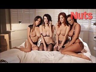 Holly peers danielle sharp lucy collet stacy poole sexy shoot