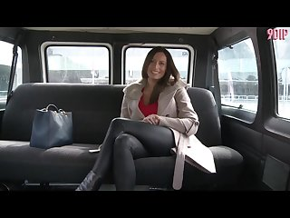 Hot milf sensual jane gets fucked in a van