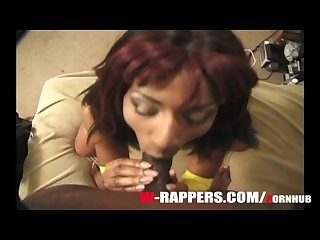Africa Sexxx came to audition to be a rapper with her big natural tits