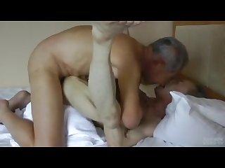 Japanese oldman fuck