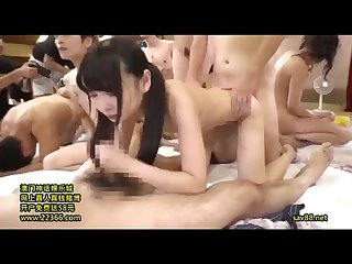 ALL you can FUCK! JAV actress thanks giving 2day1night fuck tour-partB