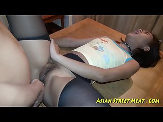 Asian anal for love money