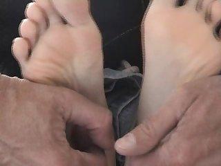 Maria foot Tickling torment