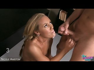 Nicole aniston cumshot compilation part 1