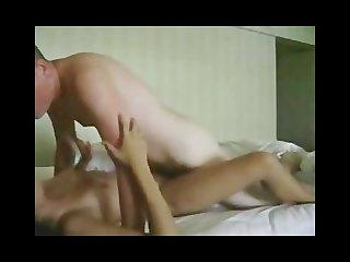 Hottie brunette fuck with boyfriend