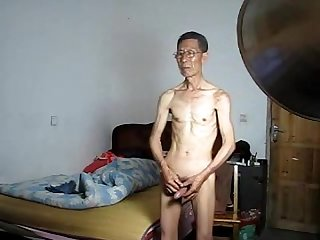 Chinese fucking bed scene