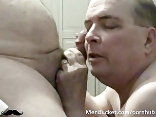 Real mature guys enjoy giving head