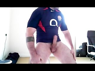 Rugby player solo