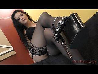 Crawl to mistress Katrina jade femdom joi ass worship